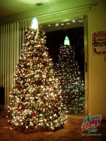 Soda Tree Christmas Tree