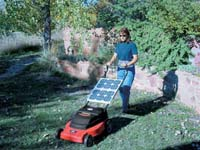Solar Mulching Mower