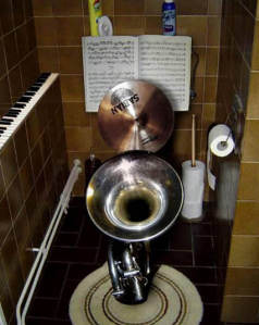 Musical Instrument Toilet