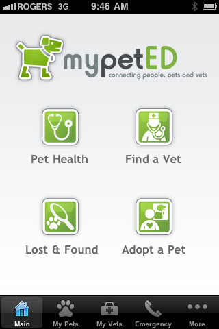 MyPetED iPhone &amp;amp; iPad apps:  LifeLearn Inc