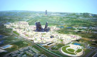 Nanjing China is Soon to House the World's Largest Green Development: Image via CK Designworks