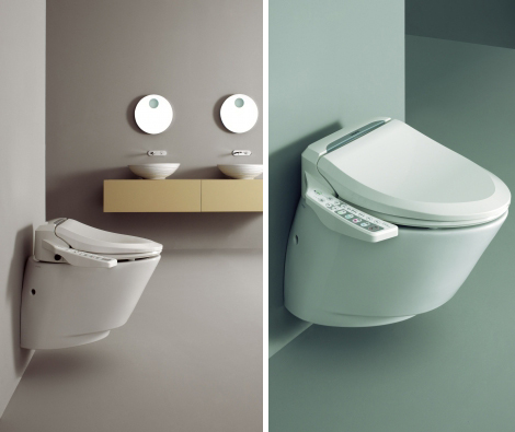 Aqualet eLoo by New Linea, Italia: image via trendir.com