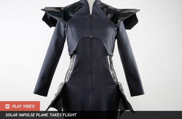 Wearable Solar Line Coat: Source: News.Discovery.com