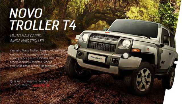 The New Ford Troller T4 Is Only Available In Brazil Problem
