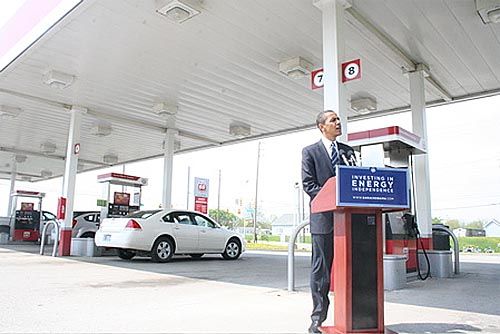 President Obama Continues Efforts For A Greener America: But Is He Out Of Gas?