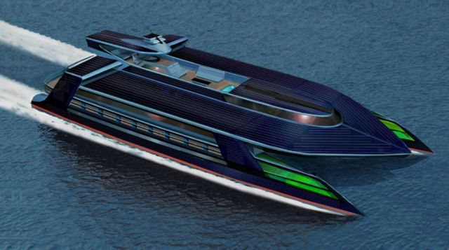 Sauter Zero Carbon Design Presents the Ocean Empire LSV Superyacht