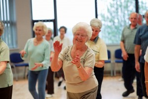 Might dance therapy help one's gait?: image via bathknightblog.com