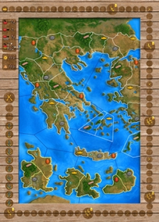 The Olympos board: it's all Greek to us.