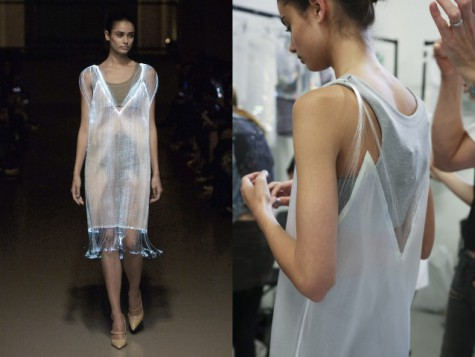 Light Up Dress on the Catwalk: Source:Forbes.com