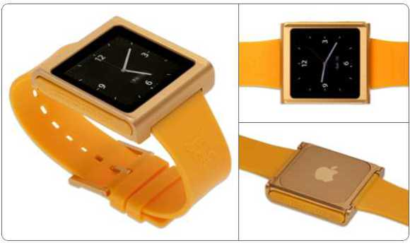 turn your ipod nano into a watch with the nanox conversion kit. Black Bedroom Furniture Sets. Home Design Ideas