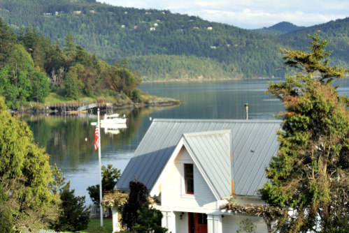 Orcas Island in Washington State: Community members on Orcas Island designed & implemented their own Internet