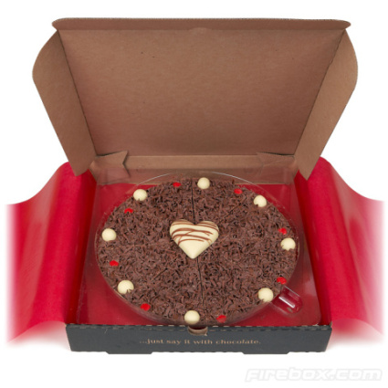 Chocolate Pizza Valentine
