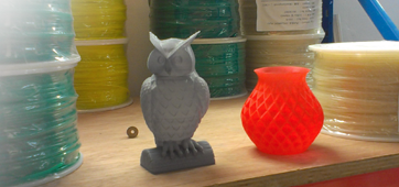A couple of creations from the Panther 3D Printer.