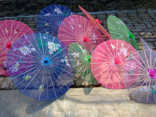 Parasols in China