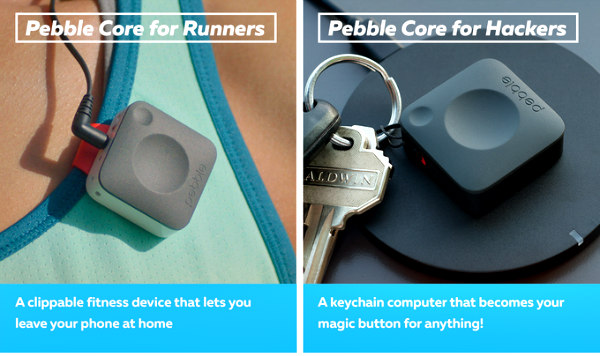Pebble Core for Runners & Hackers: New wearable allows users to leave their smart devices at home