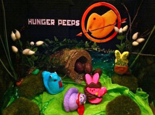 Hunger Peeps: Courtesy; Peeps, via cbsnews.com