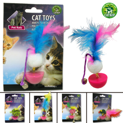 Italian Cat Bingo Cat Toy: image via misterpoint.it/