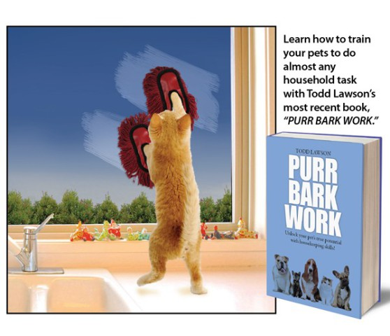 Purr Bark Work, by Tod Lawson: photo credit: Tod Lawson