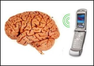 Does cell phone use cause brain cancer?: image via TopNews.in