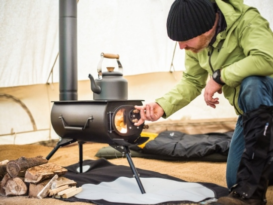 Frontier Plus Portable Wood Burning Stove