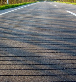 Piezoelectric Energy-Generating Roadways: Image via www.eta.co.uk