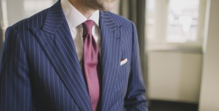 'Suit of Armor' bulletproof suit by Garrison Bespoke: image via garrisonbespoke.com