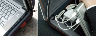 Plug.in: laptop bag in action.