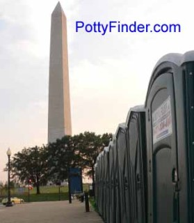 Washington DC Porta-Potty