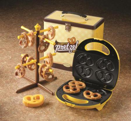 Soft Pretzel Maker by Nostalgia Electrics