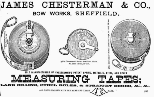 Chesterman Measuring Tape: Source: ProgressIsFine.Blogspot