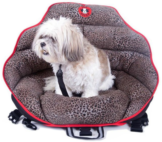 PupSaver Car Safety Seat for Dogs: image via pupsaver.com
