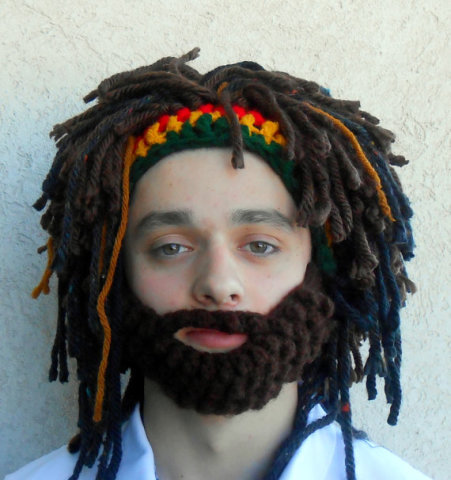 Rasta Hat With Beard