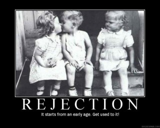 Rejection....: image via flirtyandthirty.wordpress.com