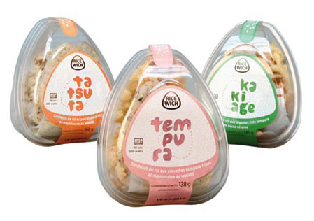 Ricewich, Ricewich - Sushi Ran, The Netherlands: Sial Trends & Innovation Award, 2010