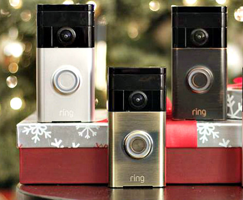 Ring Video Doorbell Doubles As Smart Security System: Ring Video image via Ring Facebook