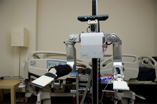 Cody, Georgia Tech&#039;s robotic nurse:  Georgia Institute of Technology
