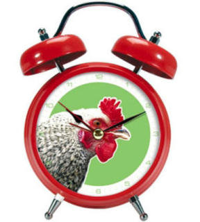 Rooster Alarm Clock: Rooster Alarm Clock