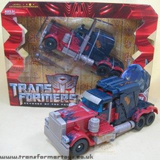 New Optimus: still cool, but not quite the same.