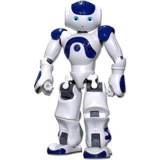 Aldebaran's NAO Robot: This little guy might soon be a hero.