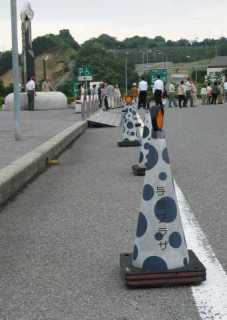 Japanese Cute Traffic Safety Cone spots