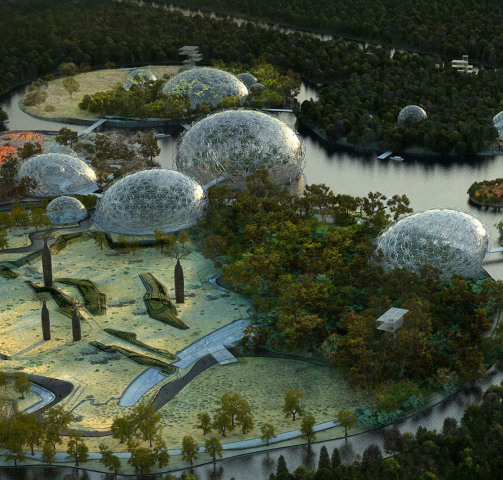 Design for the Primorskiy Zoological Park: Photo via Artefactory for TN Plus & Beckmann N'Thépé