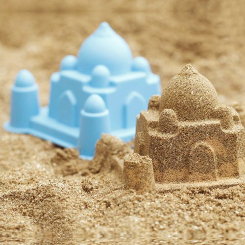 The Taj Mahal Sand Mold