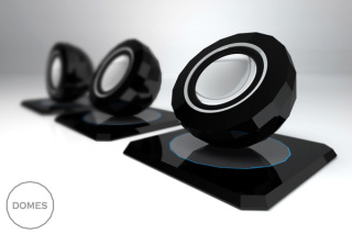 Magnetic speakers: attractive.
