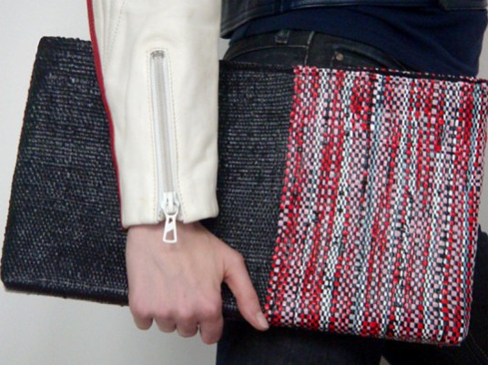 Sheila Odessey Creates Fashionable Handbags from Discarded Plastic Bags