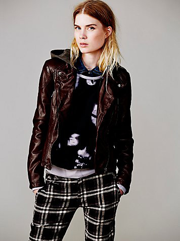 Vegan Leather Jacket: Source: Sheknows.com