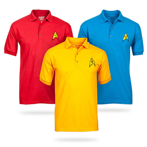 Star Trek Polo Shirts