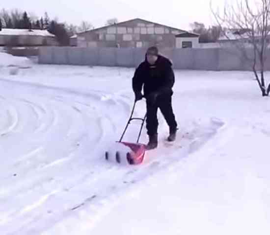 Spiral Snow Shovel