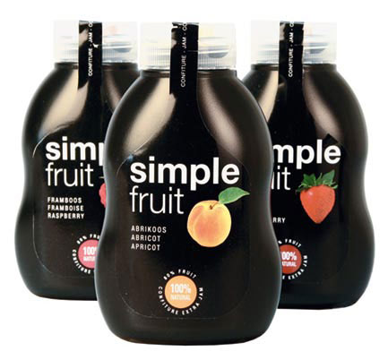 Simple Fruit Squeezable Jam, Simple Fruit - Belberry Preserves, Belgium: Simple Fruit Squeezable Jam, Simple Fruit - Belberry Preserves