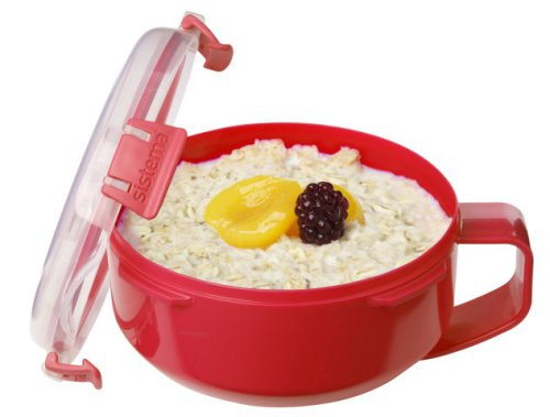 Sistema Microwave Oatmeal/Porridge Bowl To Go