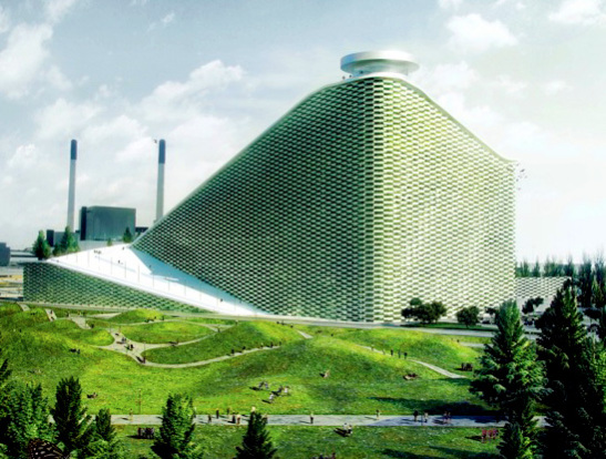 Bjarke Ingels Group Proposes Waste Plant-Ski Slope for Copenhagen